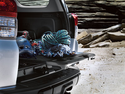 Trail shown in Classic Silver Metallic with sliding rear cargo deck.